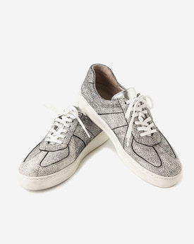 [TWOSIDE] Crack Leather Sneakers