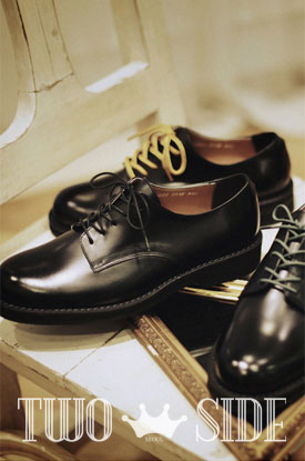 [TWOSIDE]Oxford Plane shoes